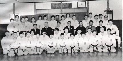11-1972-Kobe-Japan-Shukokai-Honbu-Dojo-Tani-Sensei