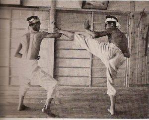 1948 - Shukokai Honbu Dojo - Chojiro Tani
