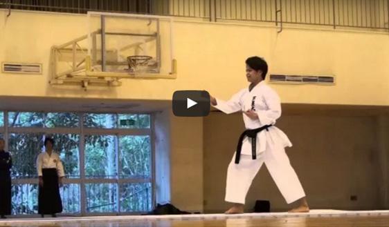 Shito-ryu Shukokai Annan Kata Karate