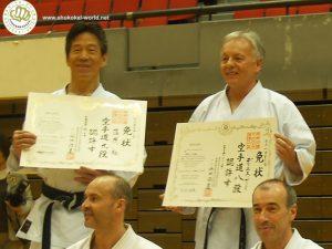 Tsutomu Kamohara and Denis Casey dan grades
