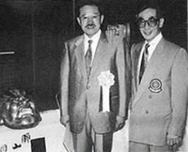 Yamada Haruyoshi and Tani Chojiro