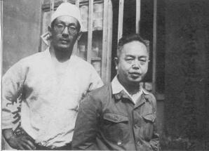 Tani Chojiro and Mabuni Kenwa