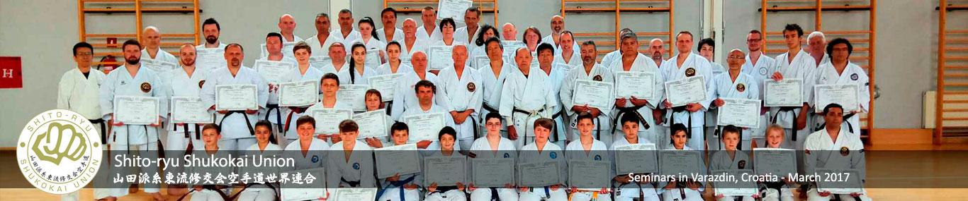 Shito-ryu Shukokai Karatedo Union Croatia 2017